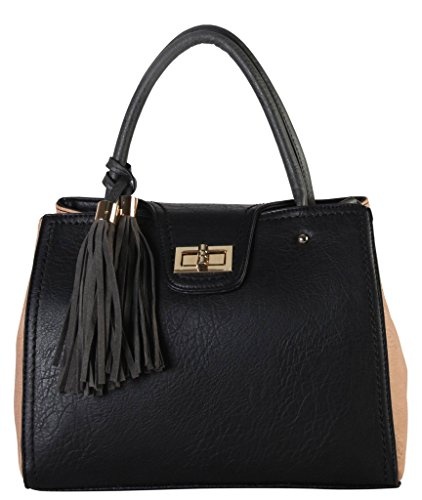 diophy-pu-leather-two-tone-tote-with-turn-lock-closure-and-tassels-decor-womens-purse-handbag-se-338