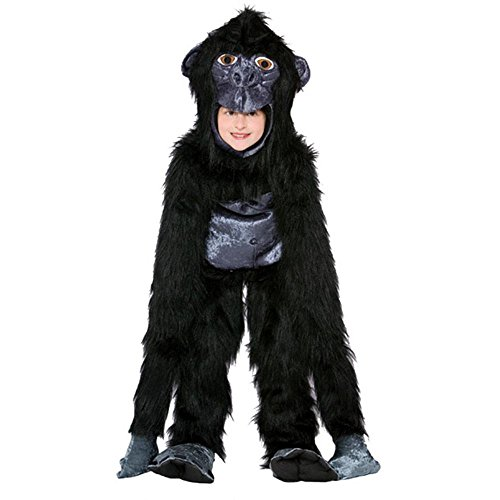 "Kids Realistic Gorilla Costume (Size 7-10 Neck opening: 16"" around w/ no stretch)"