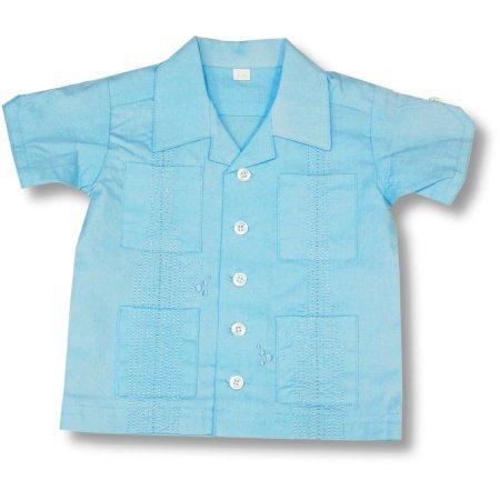 Oink Baby ~ Baby Boys Light Blue Guayabera Button Down Shirt - Buy Oink Baby ~ Baby Boys Light Blue Guayabera Button Down Shirt - Purchase Oink Baby ~ Baby Boys Light Blue Guayabera Button Down Shirt (Oink Baby, Oink Baby Apparel, Oink Baby Toddler Boys Apparel, Apparel, Departments, Kids & Baby, Infants & Toddlers, Boys, Shirts & Body Suits, Button-Downs)