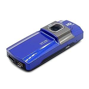 iCatch Gセンサー搭載 HIDMI出力 動体感知 常時録画 1.3メガピクセル フルHD録画 運転 記録 車載用ビデオカメラ ICD920 ブルー