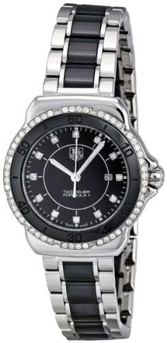 Tag Heuer Women's WAH1312.BA0867 Formula 1 Black Dial Dress Watch