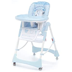 Cambrass 58 x 82 x 107cm Baby Party Highchair (Classic Blue)