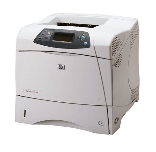 HP LaserJet 4200n - Printer - B/W - laser - Legal, A4 - 1200 dpi x 1200 dpi - up to 35 ppm - capacity: 600 sheets - parallel, 10/100Base-TX