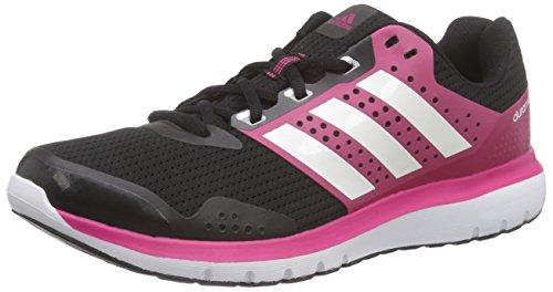 Adidas Duramo 7 W, Scarpe da Corsa Donna, Multicolore (Cblack/Ftwwht/Granit), 37 1/3 EU