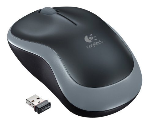 Logitech Wireless Mouse M185 – Swift Gray (910-002225)