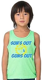 SoRock Kid\'s Sun\'s Out Guns Out Tank Top 4 Green
