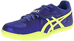 ASICS Hyper Throw 3 Track And Field Shoe,Deep Blue/Flash Yellow,11 M US
