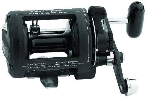 Shimano TR2000LD Charter Special Salt Water Reel Levelwind with 14/480, 17/400 and 20/300 Line Capacity