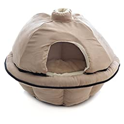 Milliard Zippered Igloo Pet Dome/Pet Bed