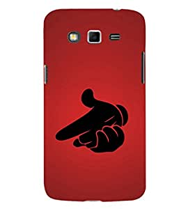 EPICCASE hand gun Mobile Back Case Cover For Samsung Galaxy Grand Prime (Designer Case)
