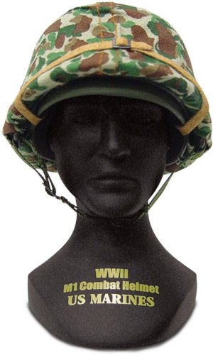 Gearbox Military Classics US Marines WWII Helmet including the statue PDF