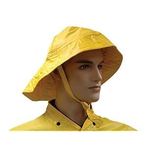 Rainwear Sou'wester Hat, Hi-Viz Yellow Color, One size fits all