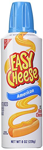 Easy Cheese Cheese Snack Sauce - American - 8.00 Ounces (Cheese Spray Can compare prices)