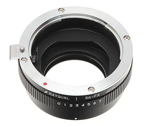 Kindai(rayqual) Mount Adapter for Fuji X Body to Minolta/sony α Lens Made in Japan ridgid 41177 tool flare 458 japan