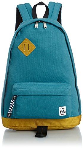 [チャムス] CHUMS Classic Day Pack Sweat Nylon CH60-0681 DarkOcean/Wild Yellow (ダークオーシャンワイルドイエロー)