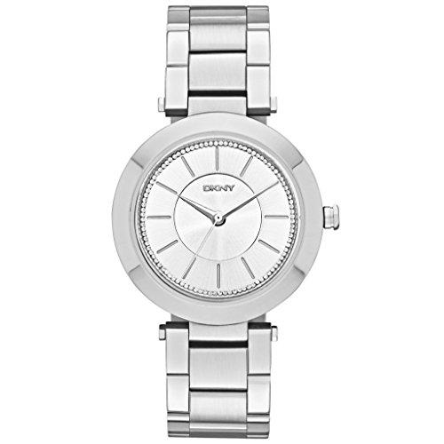 dkny-ny2285-stanhope-reloj-analogico-para-mujer-reloj-de-acero-inoxidable-50-m-circonitas-color-blan