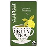 Clipper Fairtrade Green Tea with Lemon 50 per pack