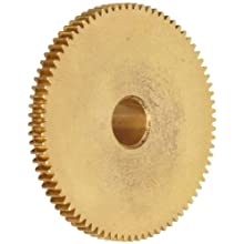 Brass Pinion Gear 64P 20 Deg Pressure Angle 56Teeth x .188&#034; Bore x .875&#034; Pitch Dia