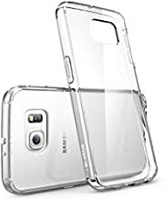 Galaxy S6 Case, [Scratch Resistant] i-Blason **Clear** [Halo Series] Samsung Galaxy S6 Hybrid Bumper Case Cover (Clear (Anti Scratch))