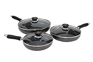 Maxware Non-stick Frying Pan with Glass Cover