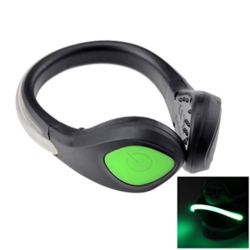 portable led safety shoes lights running night lights with 2 mode constant le. Black Bedroom Furniture Sets. Home Design Ideas
