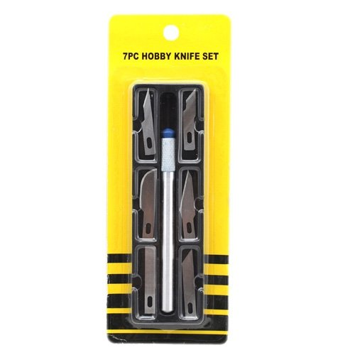 Siam Circus 7 PCS Precision Hobby Knife Set
