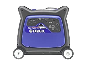 Yamaha EF6300iSDE 6,300 Watt 357cc OHV 4-Stroke Gas Powered Portable Inverter Generator With Electric Start (CARB Compliant) from Yamaha