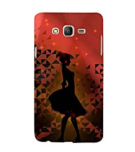 Punch Frock Girl 3D Hard Polycarbonate Designer Back Case Cover for Samsung Galaxy On5 :: Samsung Galaxy On 5 G550FY