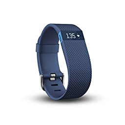 Fitbit Charge HR, Blue, Large
