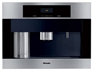 Miele CVA4066SS 24 Built-in Whole Coffee Bean System with Plumbed-In Water Connection by Mico