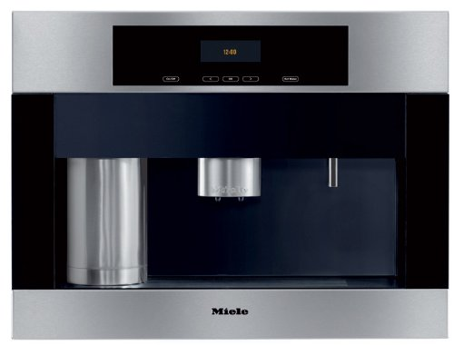 Miele CVA4066SS 24 Built-in Whole Coffee Bean System with Plumbed-In Water Connection