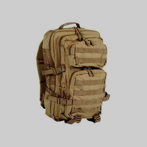US Assault Pack Rucksack 50 Liter Molle coyote