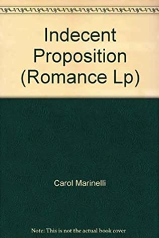 book cover of An Indecent Proposition
