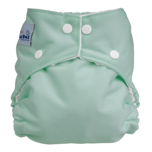 Fuzzibunz Perfect Size Diaper - Medium Sage
