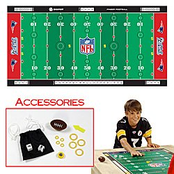 NFLR Licensed Finger FootballT Game Mat - Patriots. Product Category: Toys & Games > Finger FootballT > NFL AFC