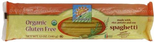 Bionaturae Spaghetti Oragnic Gluten Free 12.0 OZ