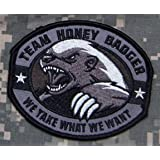 Honey Badger Morale Patch (BLACK)