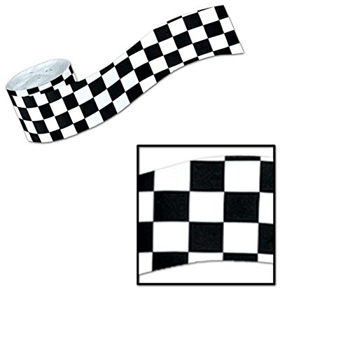 Checker Flag Crepe 30 ft