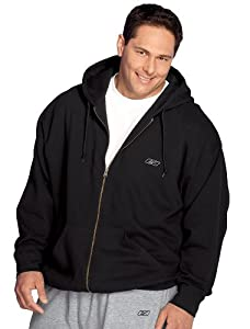 Reebok Big & Tall Full-Zip Fleece Hoodie