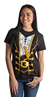 Pirate Buccanneer | Jumbo Print Novelty Halloween Costume Ladies' T-shirt