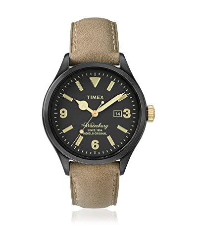 TIMEX Reloj de cuarzo Man The Waterbury Marrón Claro 40 mm