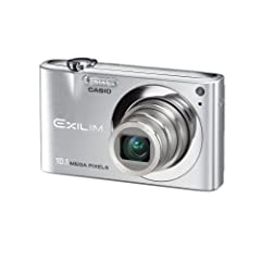 "Casio EXILIM EX-Z100 SR Digitalkamera (10 Megapixel, 4-fach opt. Zoom, 2,7"" Display) in Silber"