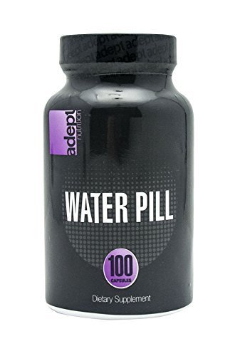 ADEPT NUTRITION Water Loss Capsules, 100 Count by ADEPT NUTRITION