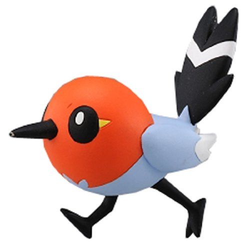 "Takaratomy Official Pokemon X and Y MC-009 ~ 2"" Fletchling/Yayakoma Action Figure"