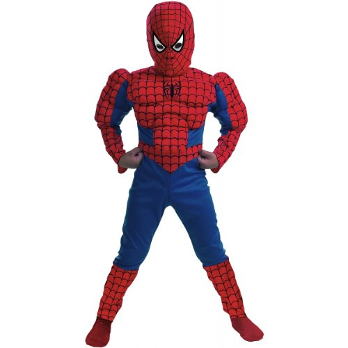 Muscle Chest Spider-Man Costume - Small