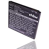 vhbw Batterie 1800mAh (3.7V) pour smartphone Acer Liquid E2, Liquid E2 Duo, V370 remplace JD-201212-JLQU-C11M-003, KT.0010J.008.