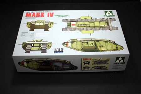 Takom WWI Heavy Battle Tank Mark IV Male Model Kit (1/35 Scale) (Model Mark compare prices)