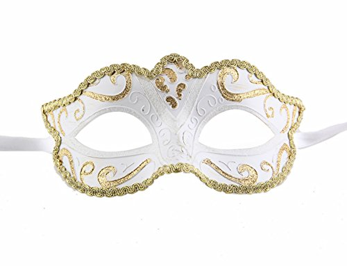Luxury Mask Women's Venetian Masquerade Party Decorative Mask