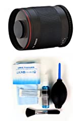 500mm Mirror Lens f/8 with Deluxe Cleaning Kit