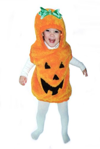 Toddler Pumpkin Vest Dress Up Costume